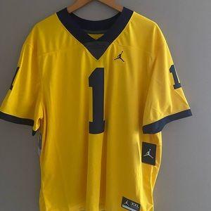 University of Michigan authentic jersey